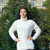 """Одежда ручной работы. Ярмарка Мастеров - ручная работа свитер """"Белая мечта"""". Handmade."""