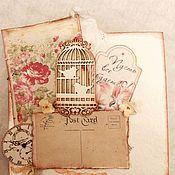 Открытки handmade. Livemaster - original item The handmade card. Handmade.