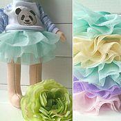 Куклы и игрушки handmade. Livemaster - original item Short skirt for dolls. Handmade.