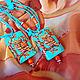 Колье, бусы ручной работы. Кулон Сказочная сова. Людмила Крикун Ходи в огурцах!. Интернет-магазин Ярмарка Мастеров. Сова