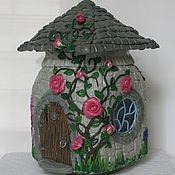 Для дома и интерьера ручной работы. Ярмарка Мастеров - ручная работа Дом для Эльфа (полимерная глина). Handmade.