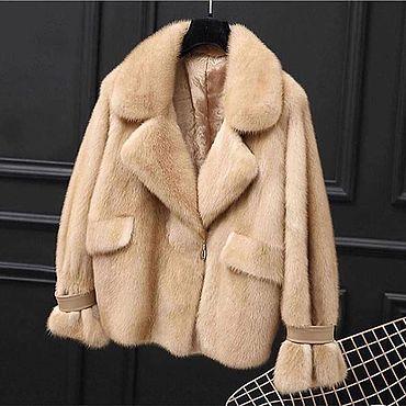 Одежда ручной работы. Ярмарка Мастеров - ручная работа Норковая куртка. Handmade.