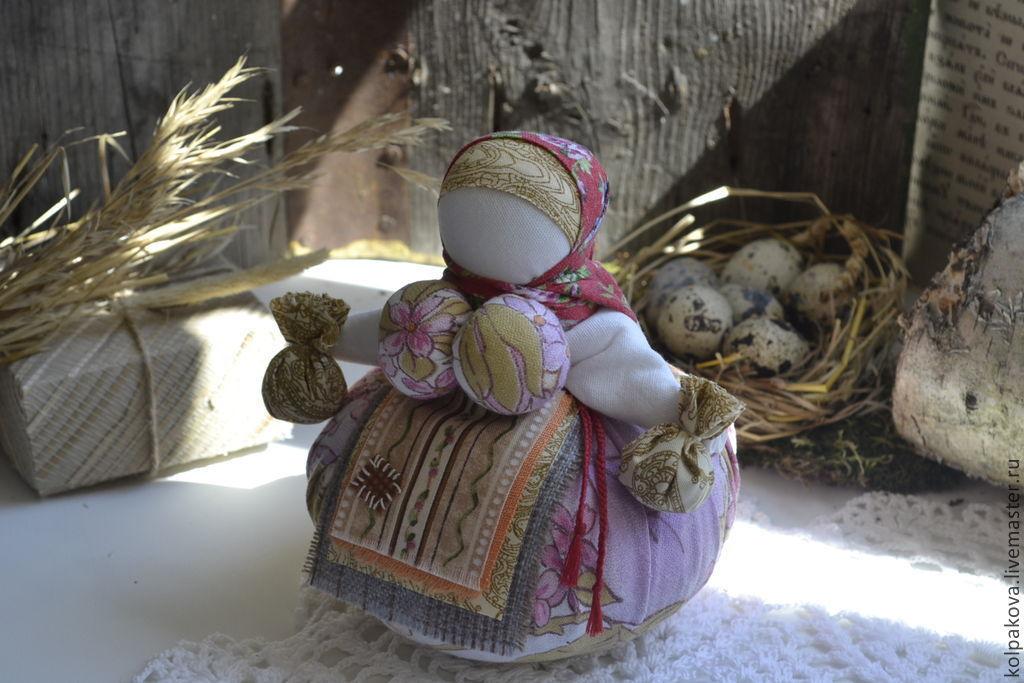 Народные куклы ручной работы. Ярмарка Мастеров - ручная работа. Купить Кубышка-травница 'Счастье весной'. Handmade. Ароматерапия