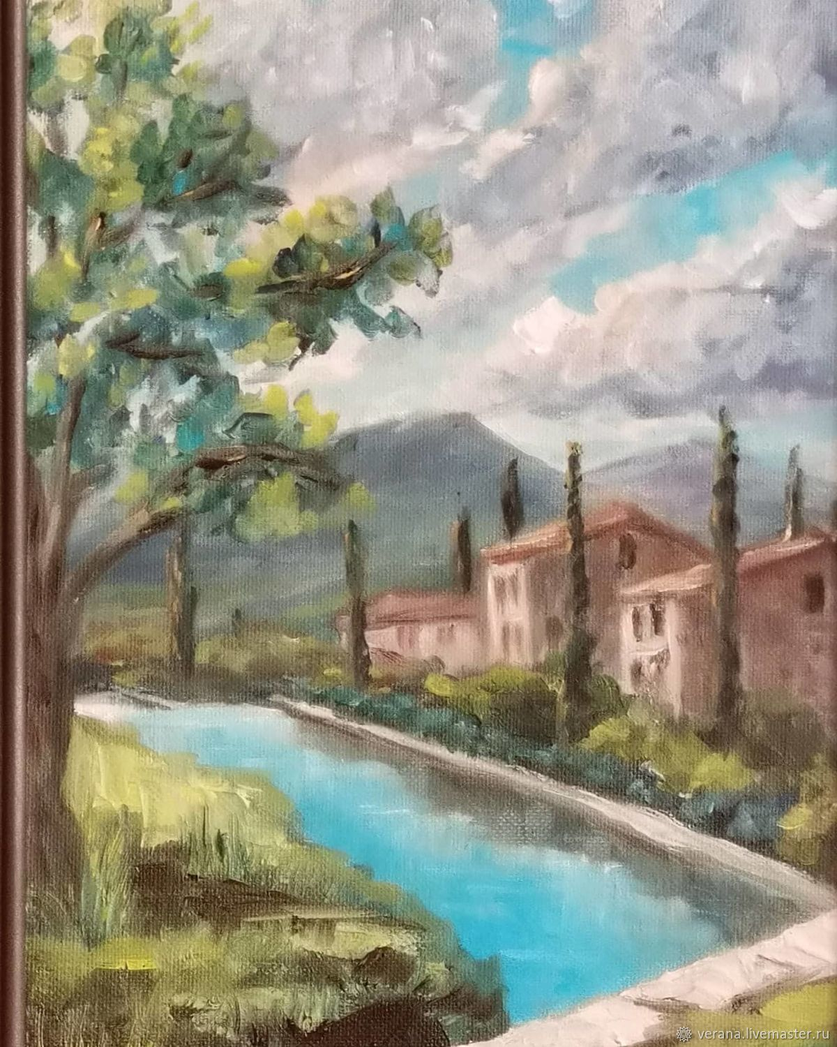 Tuscany. Oil painting, Pictures, Zhukovsky,  Фото №1