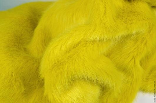 Куклы и игрушки ручной работы. Ярмарка Мастеров - ручная работа. Купить Мех Желтый 30 мм. Handmade. Мех