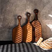 Посуда handmade. Livemaster - original item Cutting boards made of Siberian cedar 3 pcs. RDN2. Handmade.