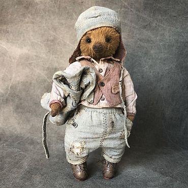 Куклы и игрушки ручной работы. Ярмарка Мастеров - ручная работа Мишка тедди винтаж. Handmade.