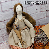 Куклы и игрушки ручной работы. Ярмарка Мастеров - ручная работа Кукла Тильда в стиле рустик, деревенском стиле Ангелина. Handmade.