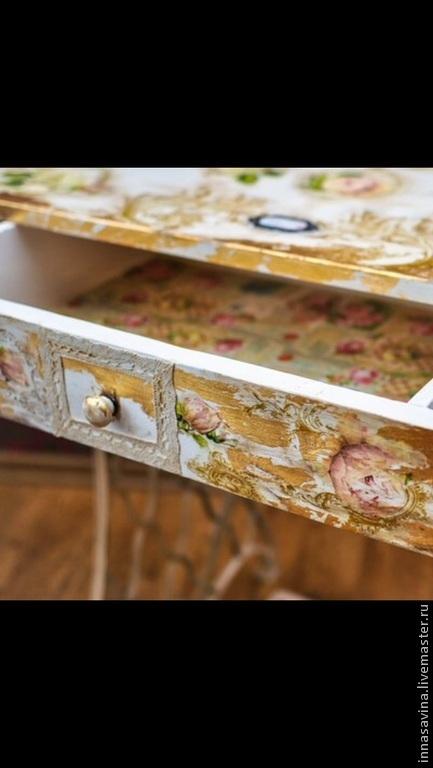 Мебель ручной работы. Ярмарка Мастеров - ручная работа. Купить Туалетный столик. Handmade. Винтаж, ковка