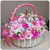 Букет из конфет  розовая сказка(большая)