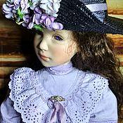 Куклы винтажные ручной работы. Ярмарка Мастеров - ручная работа Редкая фарфоровая кукла  Лидия от Sonja Hartmann. #31 /50. Handmade.