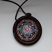 Украшения handmade. Livemaster - original item Venus Yantra Pendant. Handmade.