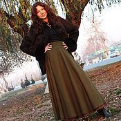 Одежда handmade. Livemaster - original item Stylish skirt