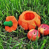Для дома и интерьера handmade. Livemaster - original item Jewelry box, Knitted pumpkin. Handmade.