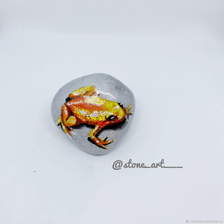 с изображением лягушки 3Д и ягуаны в 3Д, Камни, Павлодар,  Фото №1