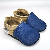 Одежда детская handmade. Livemaster - original item Newborn Booties, Leather baby shoes, Crib Shoes, Ebooba. Handmade.