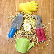"""Мыло ручной работы. Ярмарка Мастеров - ручная работа Мыло ручной работы """"Садовый набор"""". Handmade."""