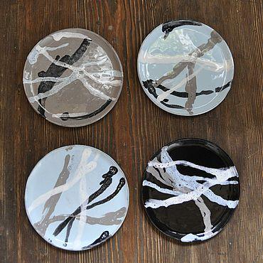 """Посуда ручной работы. Ярмарка Мастеров - ручная работа Тарелочка """"Норд"""". Handmade."""