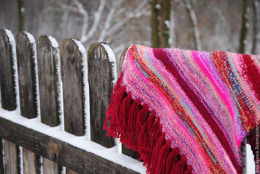 """Текстиль, ковры ручной работы. Ярмарка Мастеров - ручная работа. Купить Бабушкин коврик """"Варенье"""". Handmade. Бордовый, ковры"""