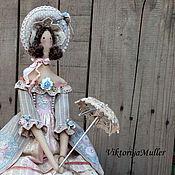 Куклы и игрушки ручной работы. Ярмарка Мастеров - ручная работа кукла тильда ручной работы БАРЫШНЯ В ПАСТЕЛЬНЫХ ТОНАХ). Handmade.