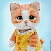 Куклы и игрушки ручной работы. Ярмарка Мастеров - ручная работа Кошка Анфиса. Handmade.