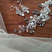 Свадебный салон ручной работы. Ярмарка Мастеров - ручная работа На заказ! Свадебное украшение для волос. Handmade.