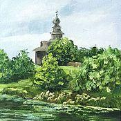 Картины и панно handmade. Livemaster - original item Suzdal. Kamenka. Landscape oil. Handmade.