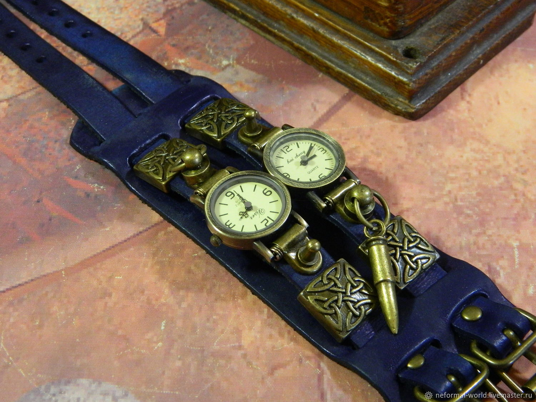 "Copy of ЧАСЫ СТИМПАНК ""CELTIC OBEREG-2"" КВАРЦЕВЫЕ ЧАСЫ, Watches, Saratov,  Фото №1"