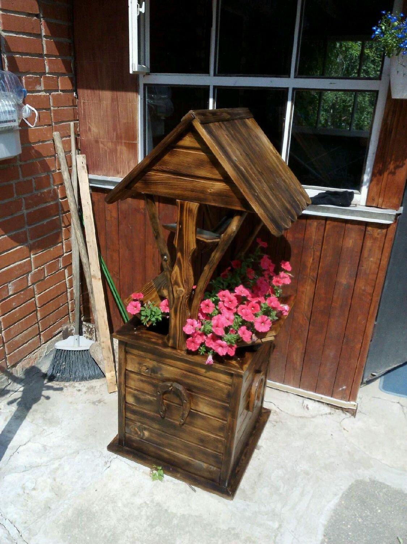 Как сделать деревянный колодец - AtmWood 61