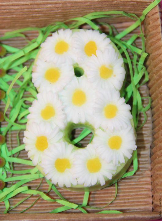 Персональные подарки ручной работы. Ярмарка Мастеров - ручная работа. Купить 8 марта с ромашками. Handmade. Белый