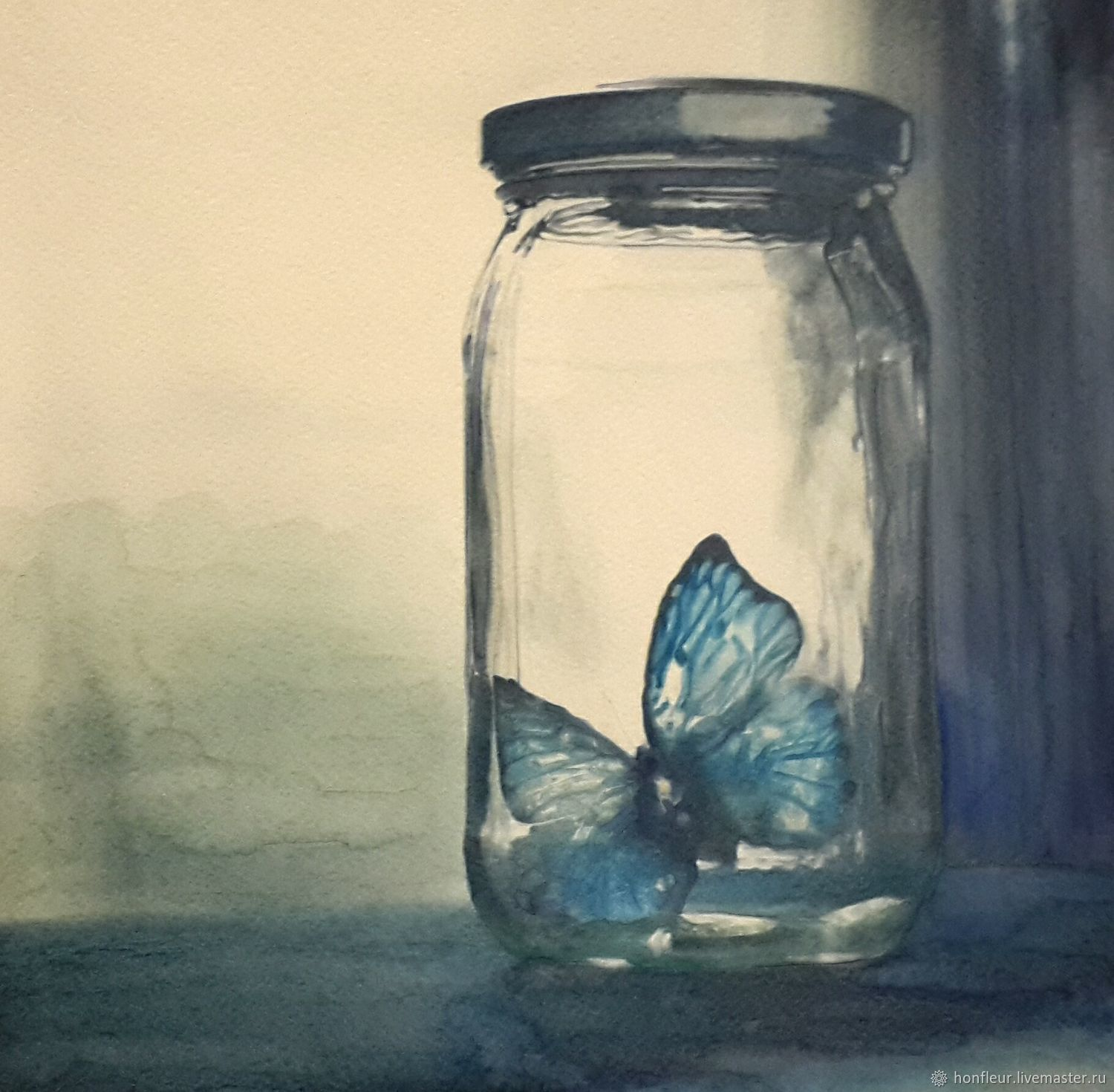 Picture: Ghost butterfly, Pictures, Moscow,  Фото №1