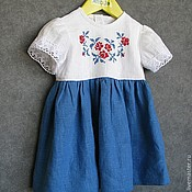 Работы для детей, handmade. Livemaster - original item Baby dress. Handmade.
