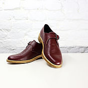 Обувь ручной работы. Ярмарка Мастеров - ручная работа Кожаные ботинки. Handmade.