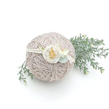 Товары для малышей ручной работы. Ярмарка Мастеров - ручная работа Повязочка для фо отосессии с красивым цветком. Handmade.