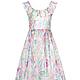 """Платья ручной работы. Заказать Платье """"Алиса"""". NINA GRIGEL (плательная лавка). Ярмарка Мастеров. Платье летнее, платье разноцветное"""