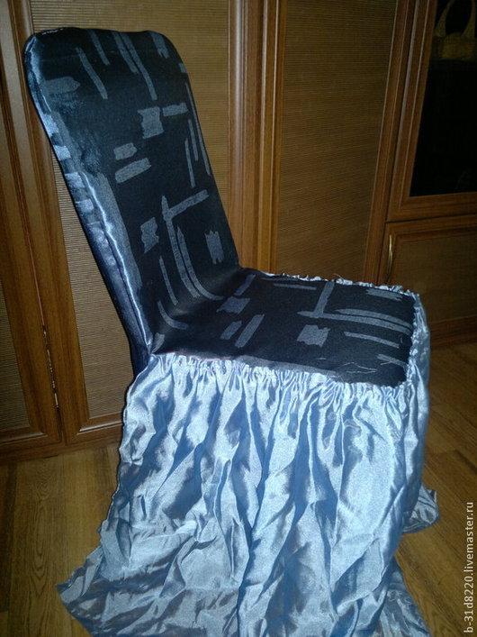 Мебель ручной работы. Ярмарка Мастеров - ручная работа. Купить Чехол на стул. Handmade. Пошив на заказ, пошив чехлов, чехол