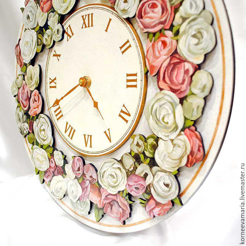 Купить настенные часы цветы самый прикольный подарок любимому мужчине