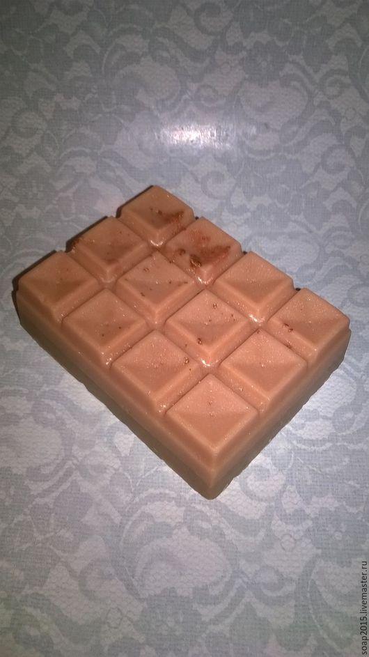Мыло ручной работы. Ярмарка Мастеров - ручная работа. Купить Молочный шоколад. Handmade. Коричневый, мыло шоколадка