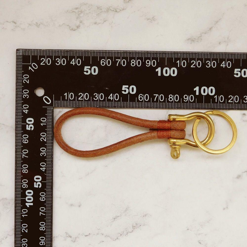 Брелок для ключей с подковкой, шнуром и кольцом