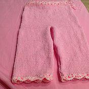 Работы для детей, ручной работы. Ярмарка Мастеров - ручная работа Брючки розовые. Handmade.