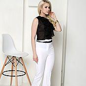 Одежда handmade. Livemaster - original item Summer pants, flared trousers. Handmade.