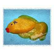 """Мыло ручной работы. Ярмарка Мастеров - ручная работа Мыло ручной работы """"Золотая рыбка"""". Handmade."""