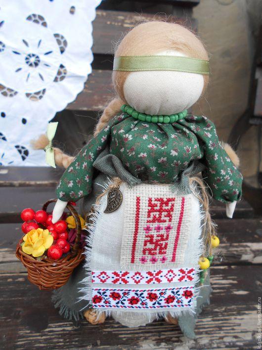"""Народные куклы ручной работы. Ярмарка Мастеров - ручная работа. Купить Кукла народная  на здоровье """"Внучка знахарки"""". Handmade."""