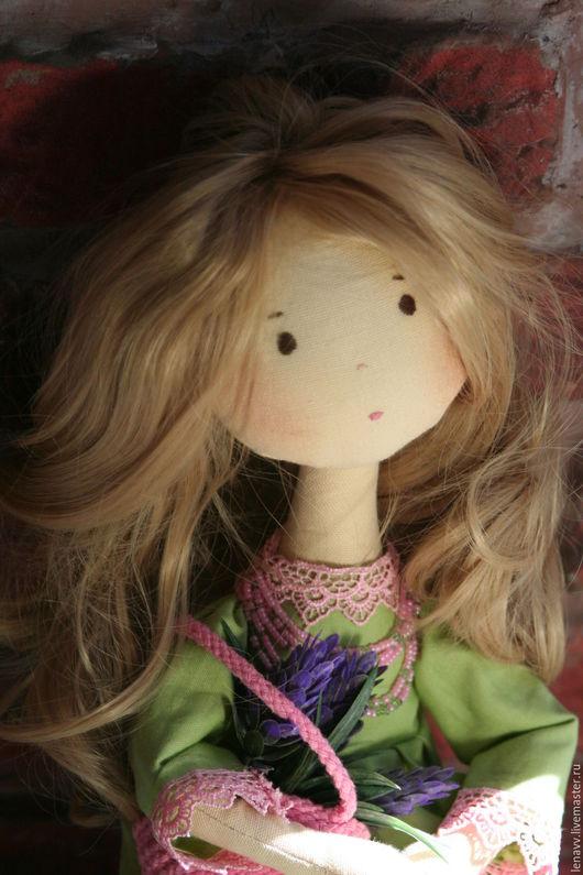 Куклы тыквоголовки ручной работы. Ярмарка Мастеров - ручная работа. Купить Интерьерная кукла. Handmade. Салатовый, интерьерная игрушка, тыквоголовка
