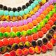 """Для украшений ручной работы. Ярмарка Мастеров - ручная работа. Купить 0427. Бусина """"Сахарная конфета"""" 10 мм. Handmade."""