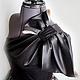 """Платья ручной работы. Ярмарка Мастеров - ручная работа. Купить Вечернее платье """"Ася"""". Handmade. Черный, гипюр, платье для выпускного"""