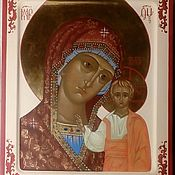Icons handmade. Livemaster - original item The Kazan icon of the Mother of God. Handmade.