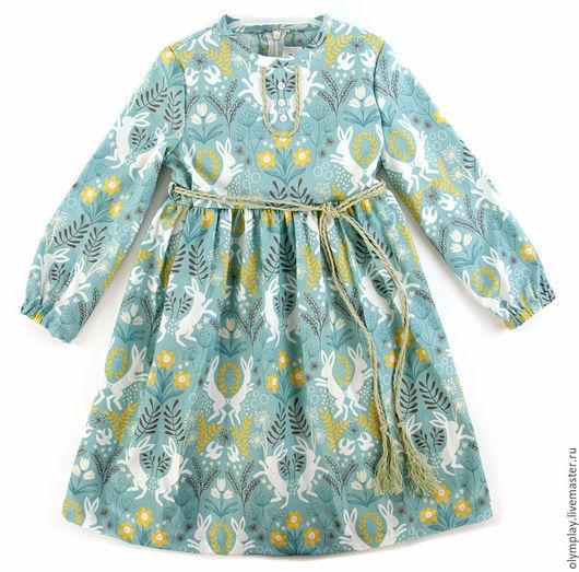 Одежда для девочек, ручной работы. Ярмарка Мастеров - ручная работа. Купить Платье детское - ручная работа (200399). Handmade. цветы