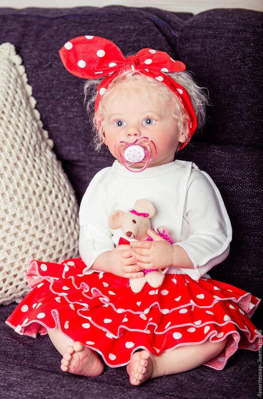 Коллекционные куклы ручной работы. Ярмарка Мастеров - ручная работа. Купить Марли ( Машенька). Handmade. Кремовый, молд