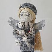 """Куклы и игрушки ручной работы. Ярмарка Мастеров - ручная работа """"Я - Ангел, потерявшихся собак..."""". Handmade."""